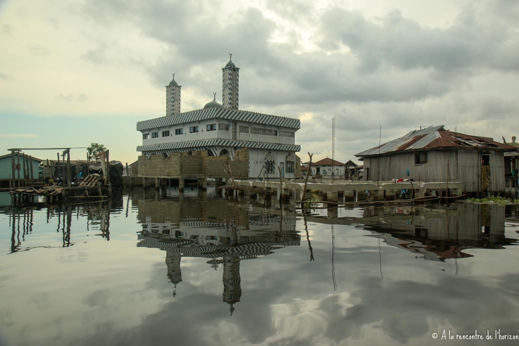 BENIN - GANVIER - MOSQUEE