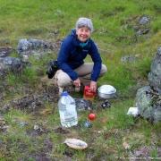 Trollstigen - Bivouac - Préparation du dîner