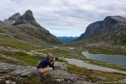 Trollstigen - Bivouac - Prise en pleine action