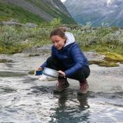 Trollstigen - Bivouac - Vaisselle dans le torrent