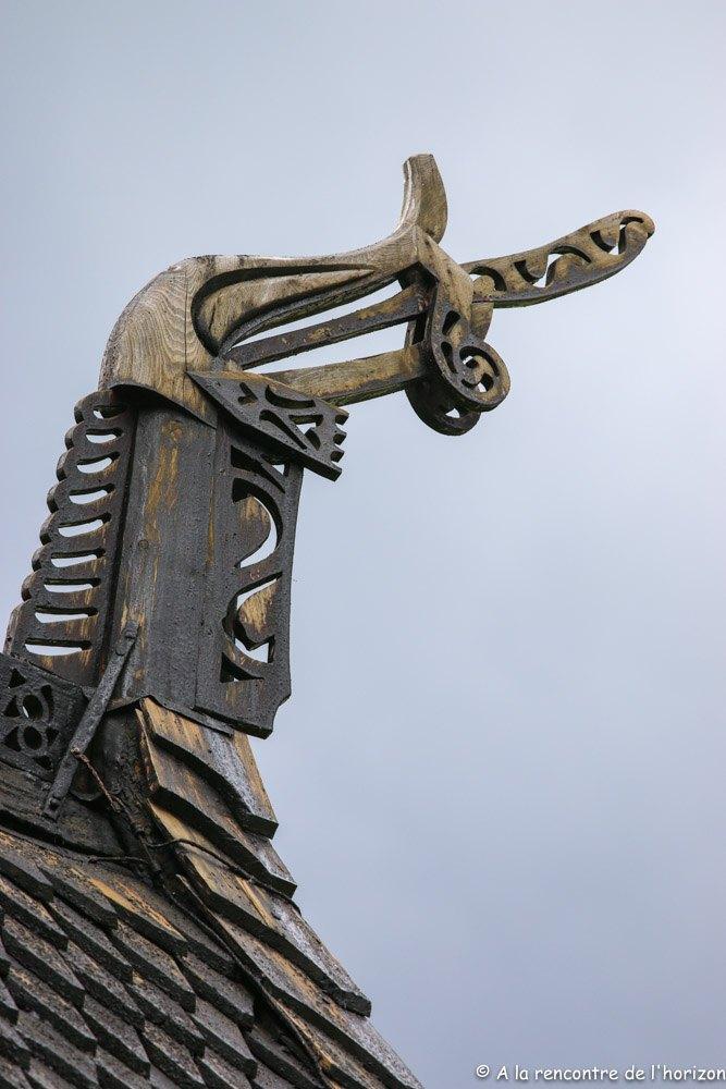 Borgund Stavkyrkje - Dragons