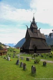 NORVEGE - VIK - HOPPERSTAD STAVKYRKJE